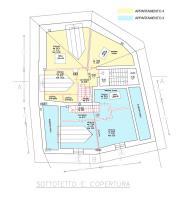 Planimetria piano sottotetto 476