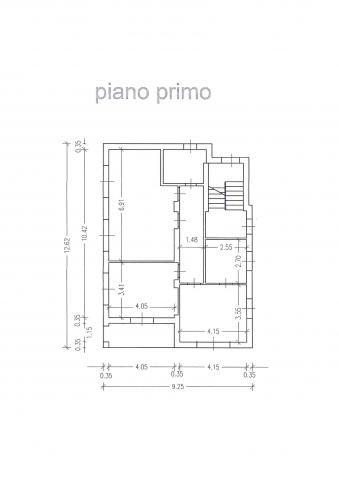 plan piano primo 427 planimetria