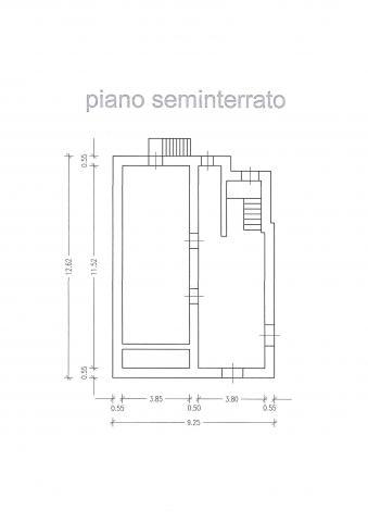 plan piano seminterrato 427 planimetria