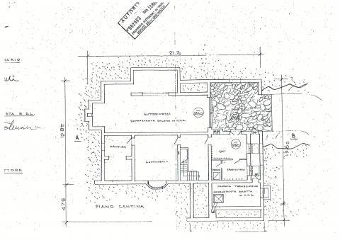 planimetria seminterrato 382