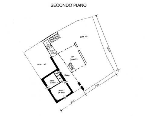 planimetria 1 secondo piano 466