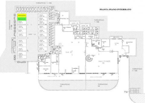 planimetria garage RIF 470