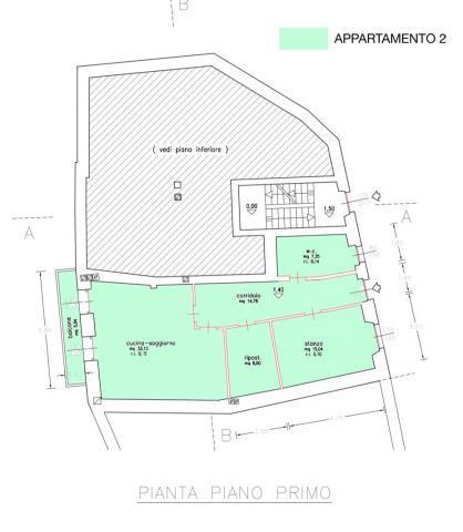 Planimetria piano primo 476