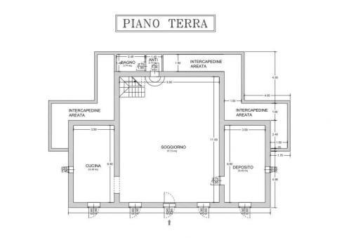 Planimetria piano terra 451