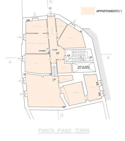 Planimetria piano terra 476