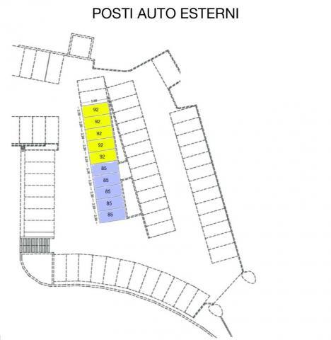 planimetria posti auto esterni 470