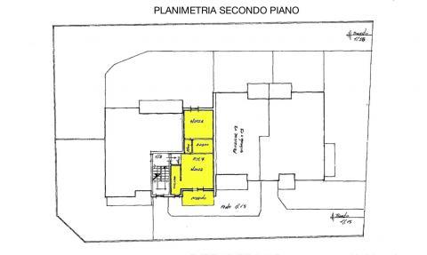 planimetria appartamento RIF 469