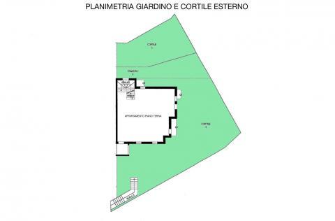 planimetria cortile esterno