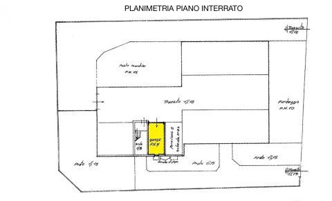 planimetria garage RIF 469