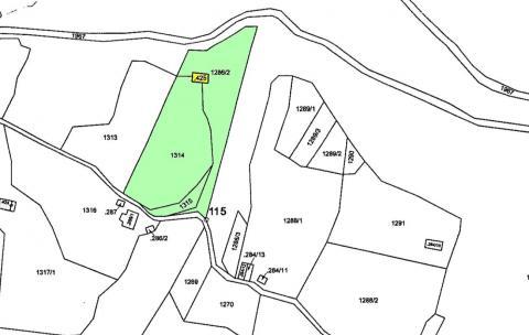 Planimetria mappa