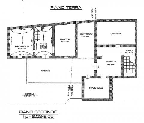planimetria piano 0