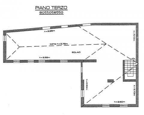 planimetria piano 3