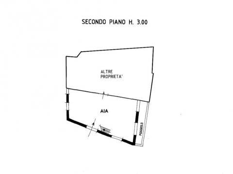 Planimetria piano secondo 355