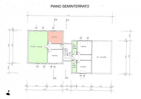 planimetria piano seminterrato 483