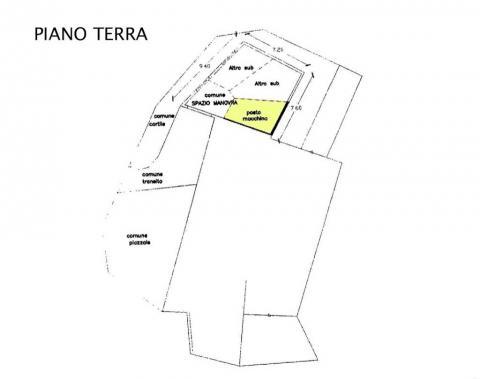 PLANIMETRIA PIANO TERRA - GARAGE