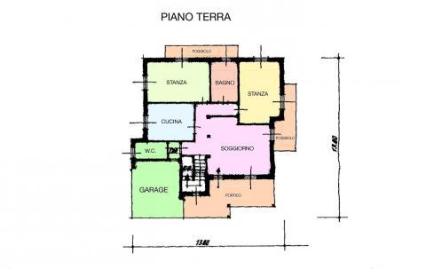 planimetria PIANO TERRA 2