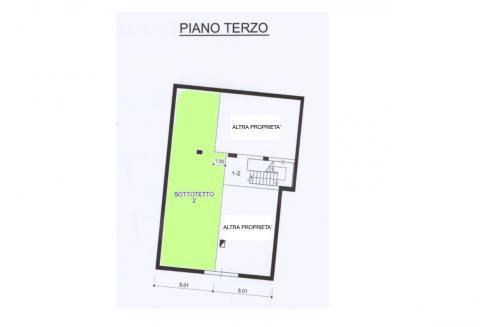 planimetria piano terzo