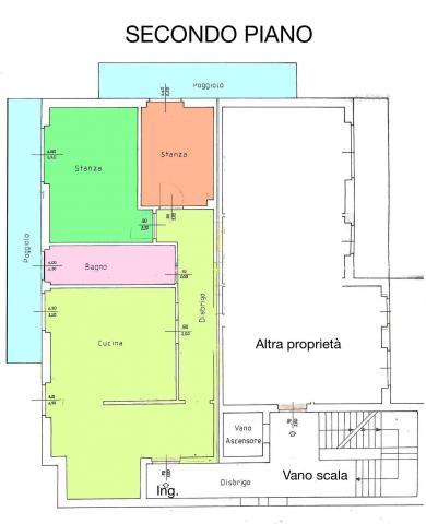Planimetria trilocale vendita comano terme tre stanze33