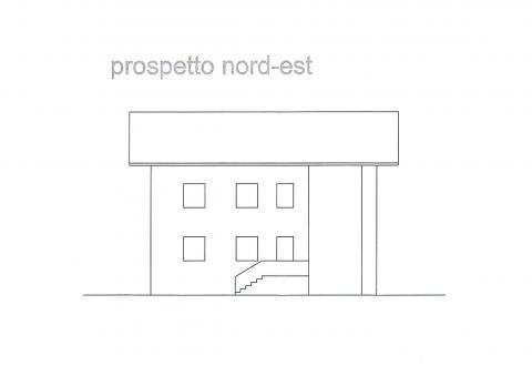 prospetto nord-est 427 planimetria