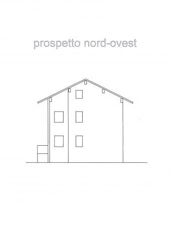 prospetto nord-ovest 427 planimetria